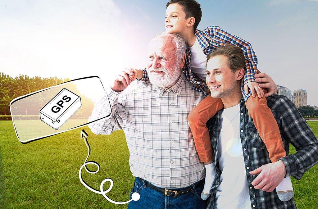 ردیاب شخصی برای افراد سالمند و آلزایمری