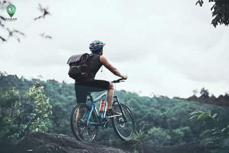 یکی از فواید دوچرخهسواری سلامتی است.