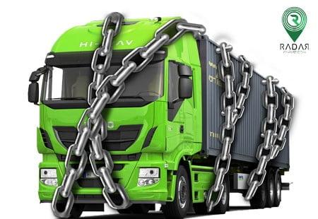 پیشگیری از وسایل نقلیه با ردیاب ماشین سنگین