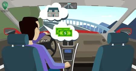 نباید اجازه دهیم مشغلههای روزانه هنگام رانندگی به ذهنمان وارد شوند.