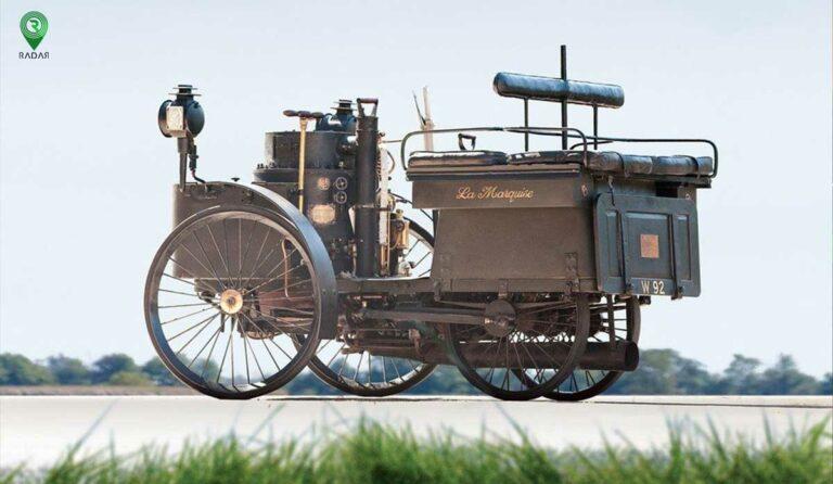اولین ماشین اختراع شده در جهان