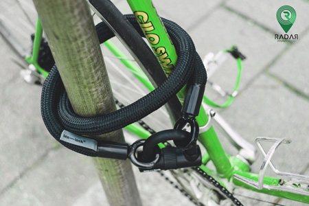 قفل کابلی دوچرخه