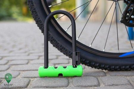 قفل d شکل دوچرخه