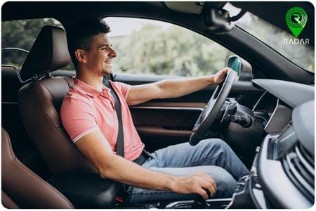 طریقه نشستن صحیح در خودرو